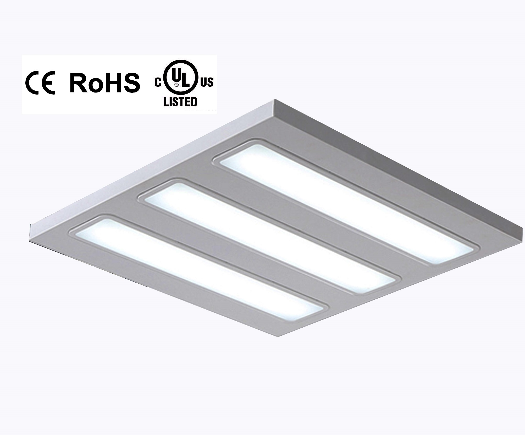 20W 40W 60W UL Down Troffer Panel LED Grille Lamp
