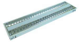 Aluminum V Shape Light Grille with LED or Common Lamp Tube
