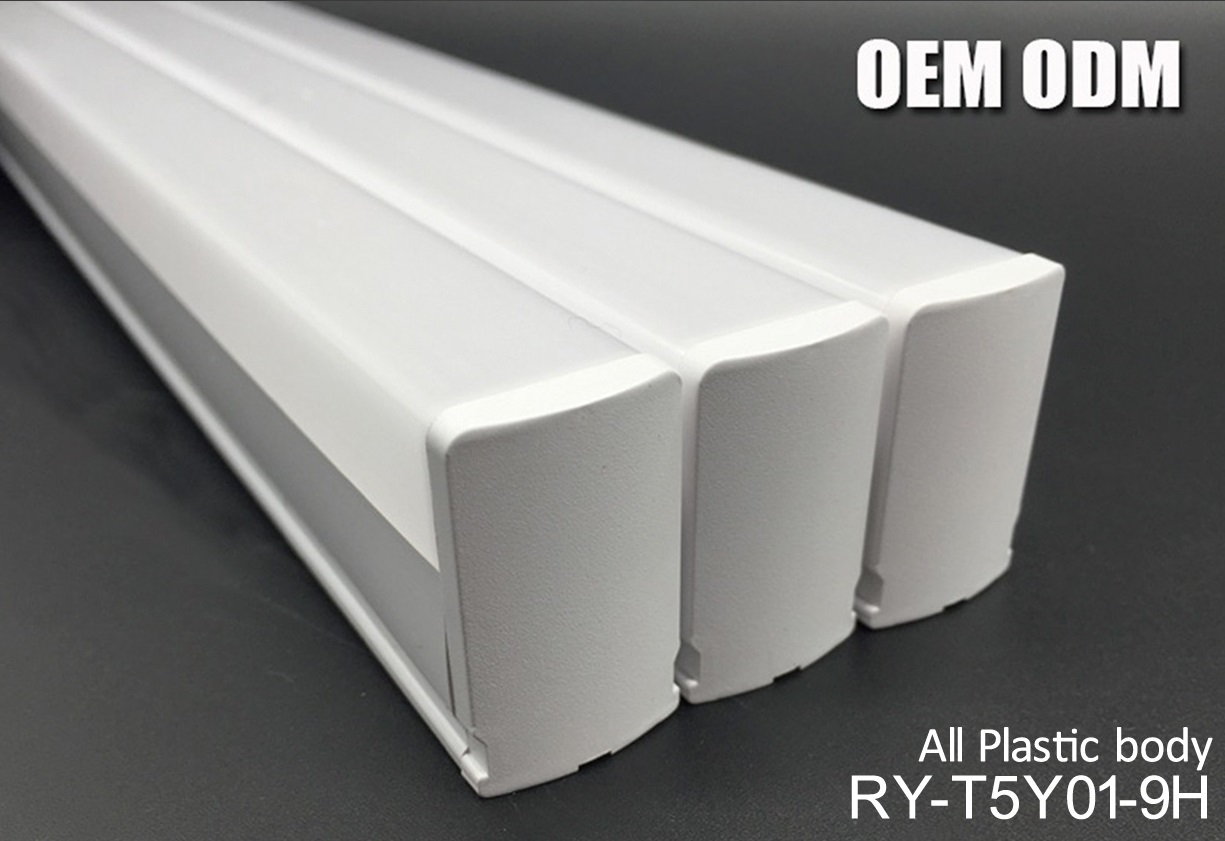 9W Ce RoHS UL All Plastic Body LED Linear Light