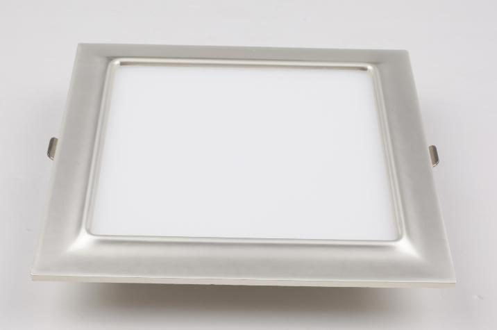 Square Electroplated Aluminum 5W Glod LED